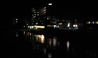 川湯温泉夜景