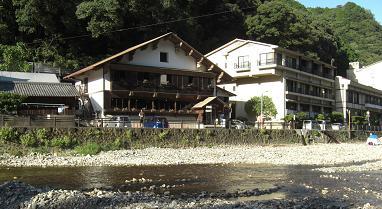 川湯温泉の景色
