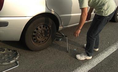 タイヤ位置交換1