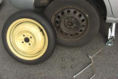 タイヤ位置交換2