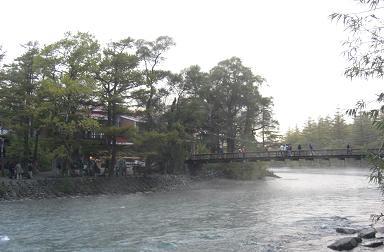 上高地・カッパ橋