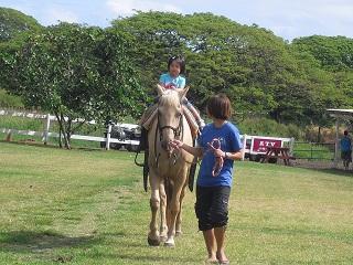 乗馬に挑戦