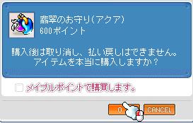 お守り(アクア)