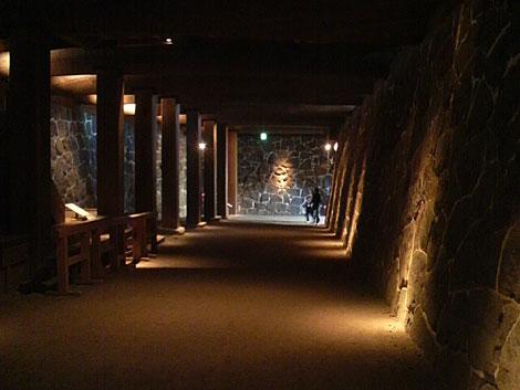 本丸御殿の地下
