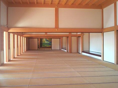 本丸御殿の35畳の間