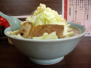 ラーメン三浦屋 とんこつモヤキャベラーメン