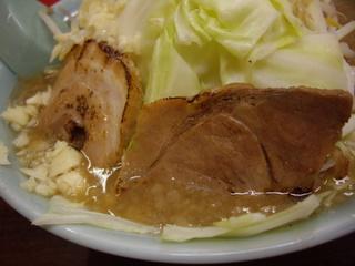 ラーメン三浦屋 とんこつモヤキャベラーメン(豚)