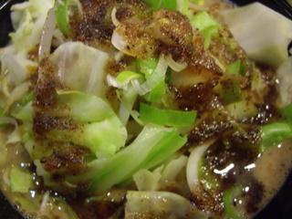 ones ones 野菜つけ麺(野菜)