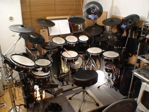 my電子ドラム