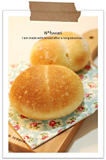久しぶりにパンを作りました