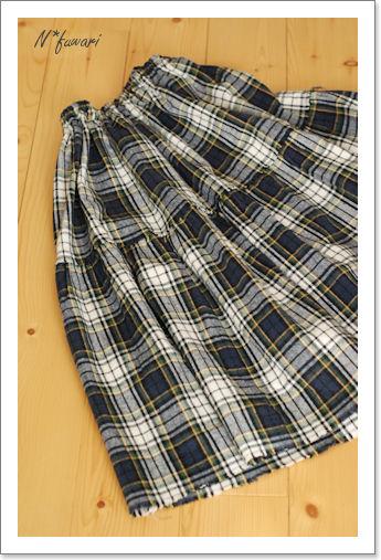 そしてスカート部分は