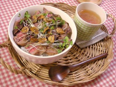 焼き肉丼セット_convert_20090929102655