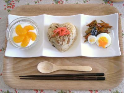 お弁当の残りで朝ごはん_convert_20091007100910
