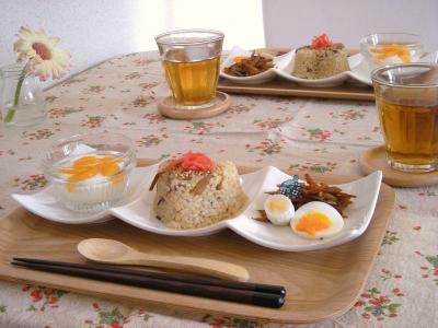 お弁当の残りで朝ごはん3_convert_20091007101009