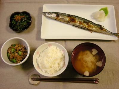 さんま定食_convert_20091012145721