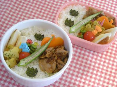 10月20日豚の生姜焼き弁当2_convert_20091020110945