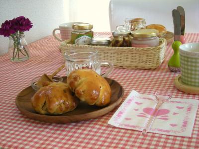 くるみパンで朝ごはん2_convert_20091020110931