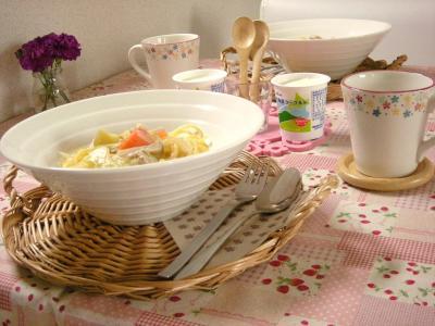 スープパスタの朝ごはん_convert_20091021142138