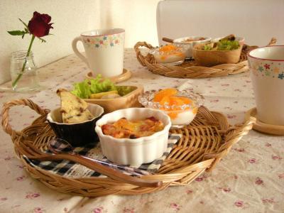 お弁当の残り朝ごはん3_convert_20091029125244