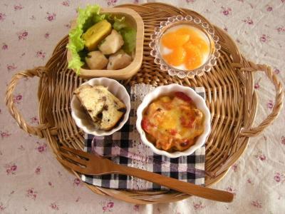 お弁当の残り朝ごはん_convert_20091029125216