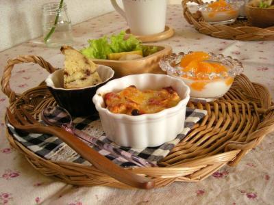 お弁当の残り朝ごはん2_convert_20091029125230