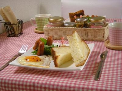 ローソンのパンで朝ごはん2_convert_20091101161231