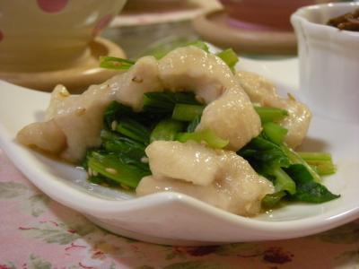 鶏むね肉と小松菜の和えもの_convert_20091111112208