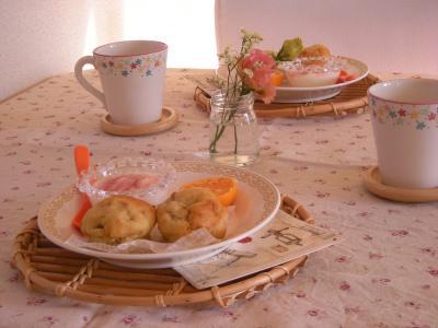 カップケーキで朝ごはん_convert_20091112132733