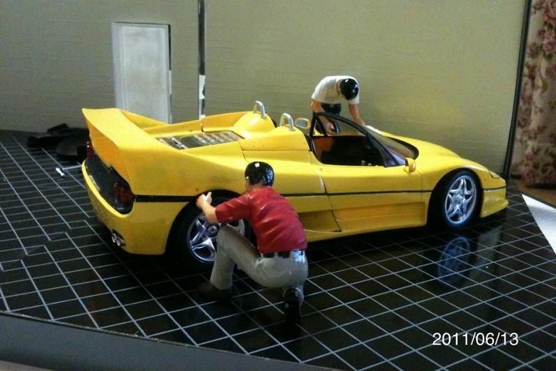 F50ボディ墨いれ