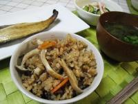 0902エリンギの炊き込みご飯