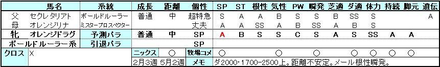 ドラグ-パラ予測0504