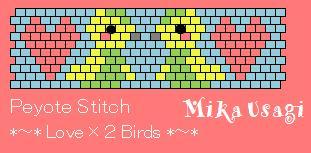 peyote stitch birds
