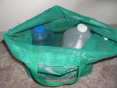 waters in bag