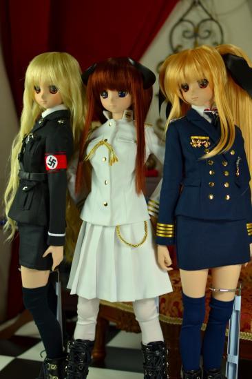 DD用軍服ドイツ-日帝海軍-米海軍