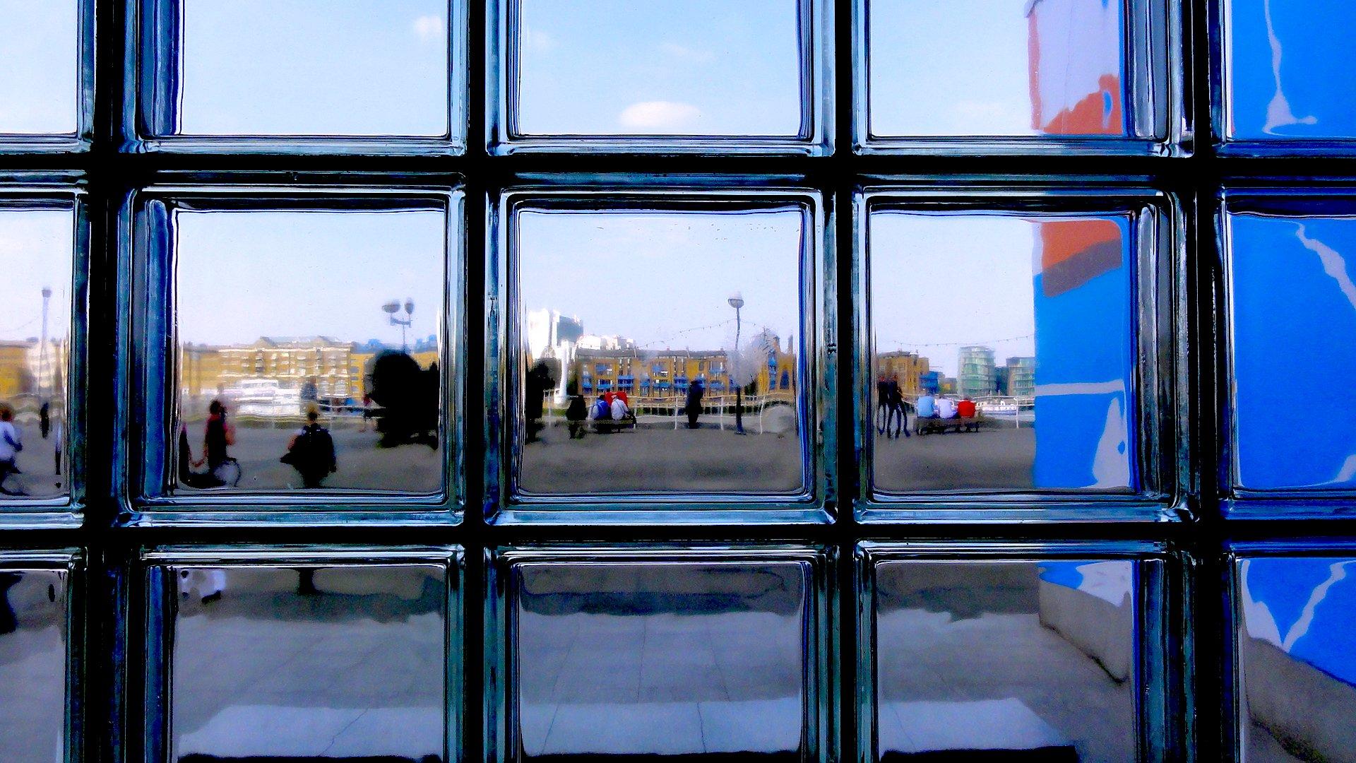 ガラスの風景