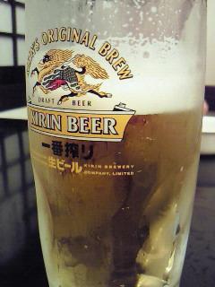 大黒うどん ビール