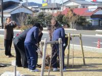 11.1.29  手作り故郷賞での植樹2