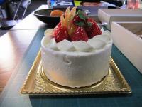 11.1.29 永久堂のデコレーションケーキ