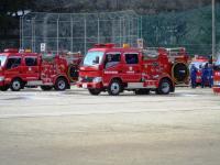 2011.3.6 新居浜消防観閲式1
