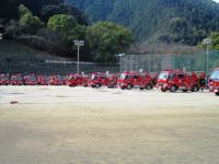 2011.3.6 新居浜消防観閲式2