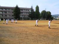 2011.5.24 大生院院中学校でのマンダリンパイレーツの野球教室2