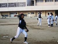 2011.5.24 大生院院中学校でのマンダリンパイレーツの野球教室3