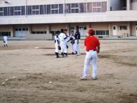 2011.5.24 大生院院中学校でのマンダリンパイレーツの野球教室4