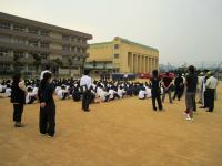 2011.6.5 泉川中学校避難訓練1