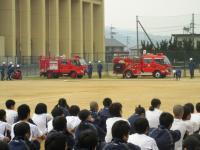 2011.6.5 泉川中学校避難訓練2