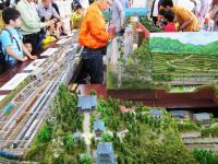 2011.6.12 新居浜液フェスティバルのジオラマ1