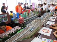 2011.6.12 新居浜駅フェスティバルのジオラマ2