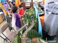2011.6.12 新居浜駅フェスティバルのジオラマ3