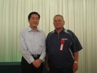 2011.7.7 笹本さんと知事