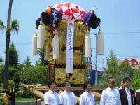 2011.7.16 新須賀太鼓台2